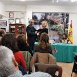 Consuelo Giner es recibida en la Asociación «La Platea» de Quart de Poblet con la Insignia de Oro