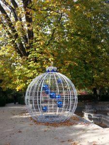 Inauguración de las luces navideñas del Real Jardín Botánico de Madrid