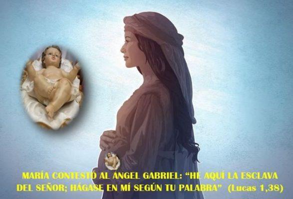 María, en quien se cumplió la obra divina de la salvación