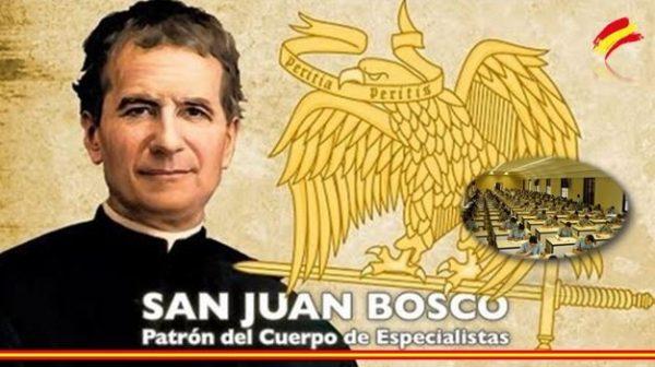 San Juan Bosco, Patrón del Cuerpo de Especialistas del Ejército de Tierra