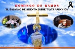 El domingo de Ramos, la divina misericordia entre tanto sufrimiento