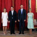 Almuerzo en Honor de SS.EE. el Presidente de la República de Panamá y Sra. Castillo de Varela en el Palacio Real de Madrid