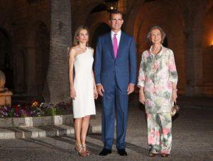 Con motivo de la estancia estival de la Familia Real en Palma de Mallorca