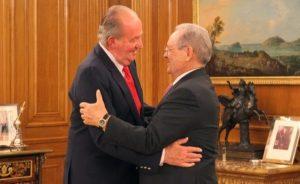 Don Juan Carlos recibió al Presidente de la Federación Internacional de Tiro Olímpico, el mexicano Olegario Vázquez Raña
