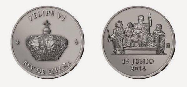 El Banco de España desmiente que haya dicho que las monedas con la efigie de Felipe VI circularían en 2015