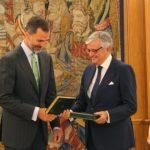 El Fiscal General del Estado entregó al Rey Felipe la memoria anual de la Fiscalía