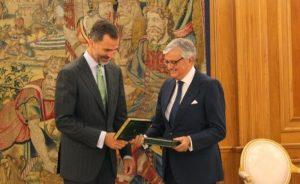 Lee más sobre el artículo El Fiscal General del Estado entregó al Rey Felipe la memoria anual de la Fiscalía