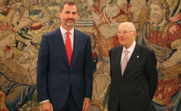 El Rey de España recibe en audiencia al Presidente del Consejo de Estado
