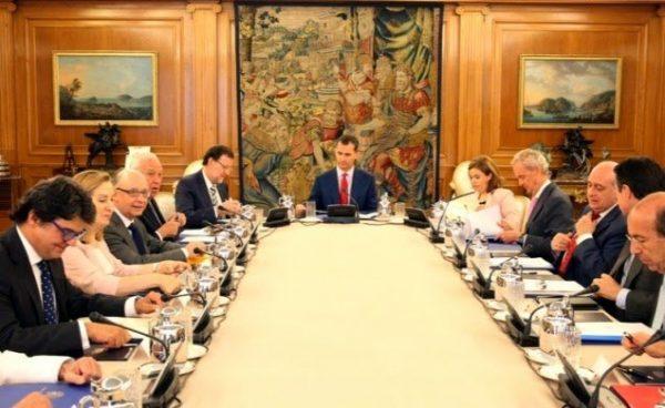 El Rey preside el Consejo de Seguridad Nacional
