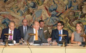 El Rey preside la reunión anual del Patronato de Cotec