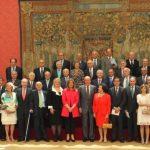 El Rey recibe a la Junta Directiva de la Asociación Seniors Españoles para la Cooperación Técnica