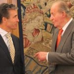El secretario General de la OTAN visita al Rey en la Zarzuela
