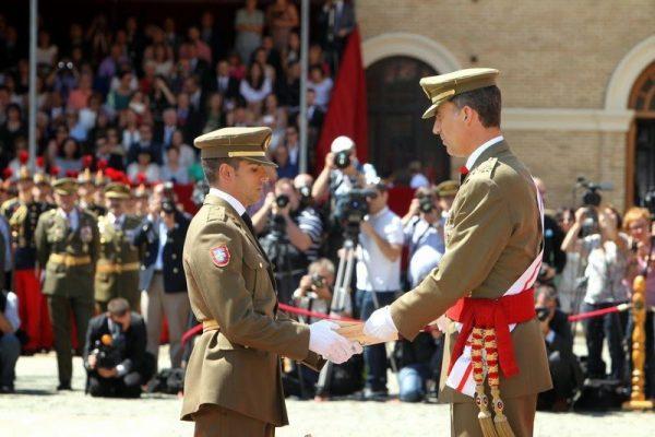 Entrega de Reales Despachos de Empleo en la Academia General Militar