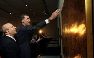 Inauguración de la exposición «Diseñar América: el trazado español de los Estados Unidos»