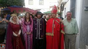 La Hermandad Nacional Monárquica testigo de la Boda Regia de Valencia de Alcántara