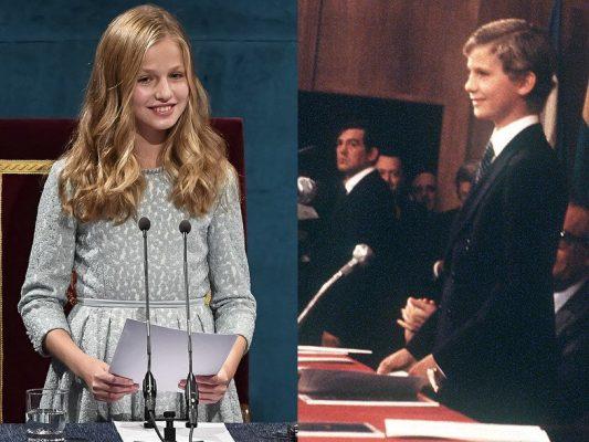 La Princesa de Asturias y su debut