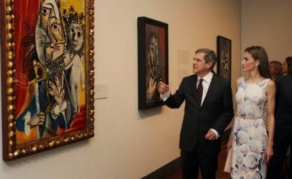 La Reina Leticia inauguró la exposición «El Greco y la pintura moderna»