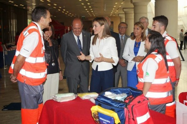 La Reina Letizia en el 150 Aniversario de la Cruz Roja Española