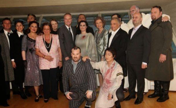 La Reina Sofía asiste en Valencia a la representación de la Ópera «La Forza del Destino» dentro del VII Festival del Mediterrani