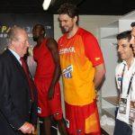 La asistencia el sábado al partido de baloncesto en Granada es la segunda salida que hace el Rey Juan Carlos desde su abdicación en junio