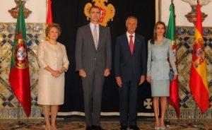 Los Reyes de España en visita oficial de presentación a Portugal