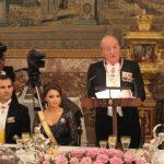Los Reyes de España ofrecen cena de gala al Presidente de los Estados Unidos Mexicanos y Señora