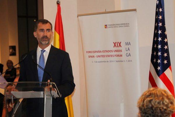 Los Reyes presidieron la Cena del XIX Foro España – EEUU
