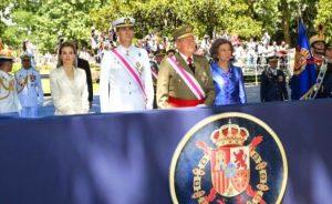 Los Reyes y los Príncipes presidieron el Día de las Fuerzas Armadas