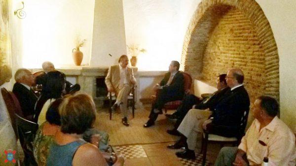 Reunión entre autarcas portugueses y el Presidente de la Hermandad Nacional Monárquica