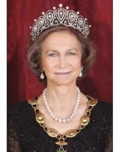 Rodríguez Aguado: «La Reina Sofía es la gran sonrisa de la monarquía española»