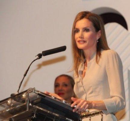 S.A.R. la Príncesa de Asturias presidió la ceremonia de entrega de premios Nacionales de la Moda