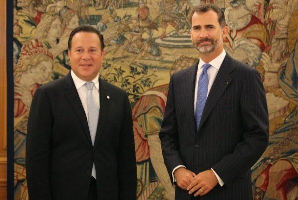 S.M. Felipe VI mantuvo una reunión en el Palacio de La Zarzuela con el Presidente de Panamá de visita oficial en España