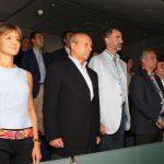S.M. el Rey asistió al encuentro de baloncesto de la Selección Española de Baloncesto
