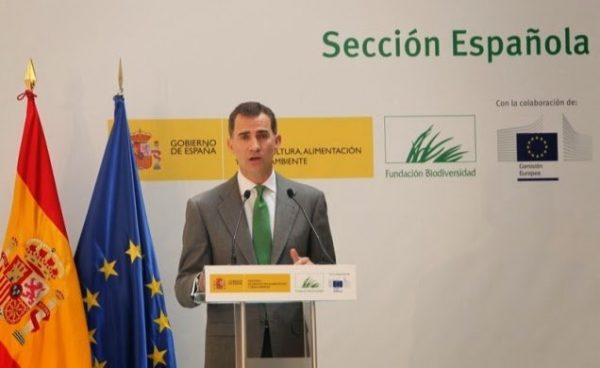 SS.AA.RR. Los Príncipes de Asturias presidieron el acto de entrega de los Premios Europeos de Medio Ambiente a la Empresa 2013/2014