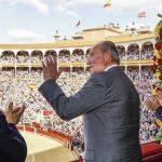 Sonora ovación al Rey en las Ventas en la corrida de la Beneficencia