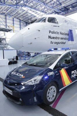 """Air Europa ha presentado un avión rotulado con el nombre """"Policía Nacional. Nuestro servicio, tu seguridad"""""""