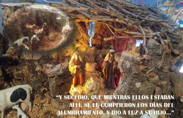 El belén, la humilde grandeza humanizada en Dios hecho hombre