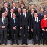 Lee más sobre el artículo Su Majestad el Rey recibió al Comité Ejecutivo de la organización empresarial cúpula del Sector del Metal en España