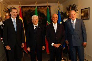 SS.MM. Don Felipe VI y Don Juan Carlos asisten al encuentro COTEC Europa 2019