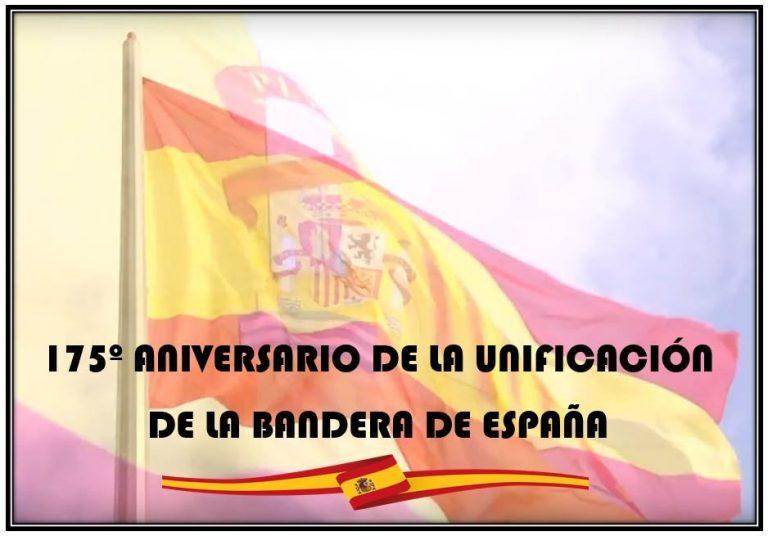 """""""A pocos días del 175º Aniversario de la Unificación de la Bandera de España, hoy es esencia sagrada y misterio de la Patria"""""""