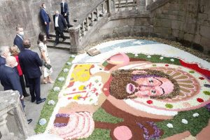Asistencia de Sus Majestades los Reyes a la Ofrenda Nacional al Apóstol Santiago
