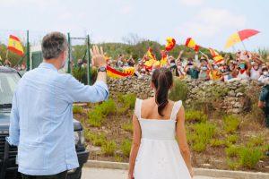 Los Reyes visitaron Mahón y Ciutadella en la isla de Menorca, dentro del marco de actividades que realizan durante su estancia en las Illes Balears