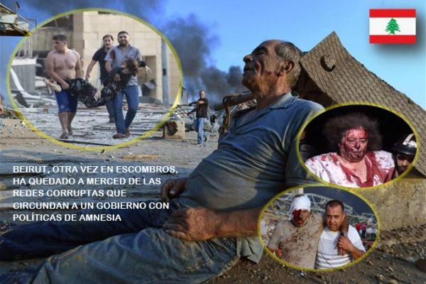 Líbano, un conflicto interminable de todos contra todos