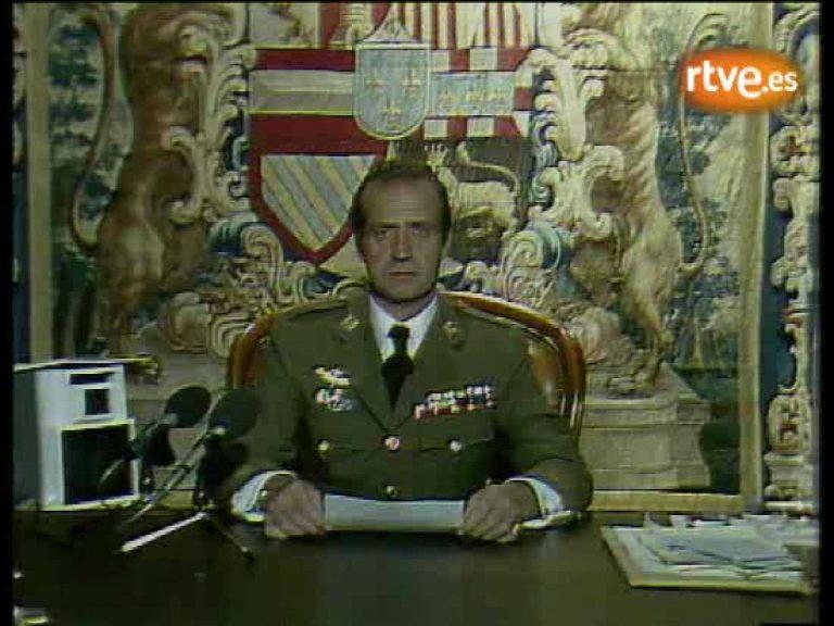 Se cumplen 34 años de la intervención del Rey Juan Carlos para abortar el Golpe de Estado