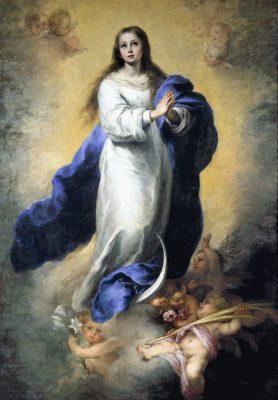 La Inmaculada Concepción, Patrona de la Hermandad Nacional Monárquica de España
