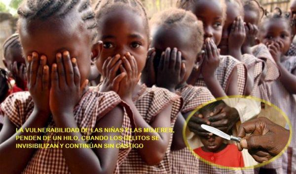 El corto trecho entre el COVID-19 y la mutilación genital femenina
