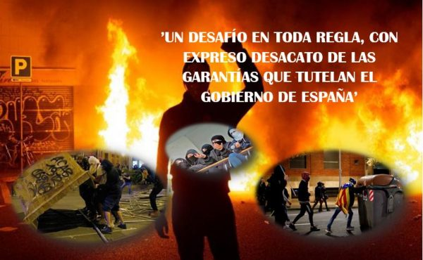 La Rosa de Fuego, una vieja artimaña que pretende intimidar a Cataluña