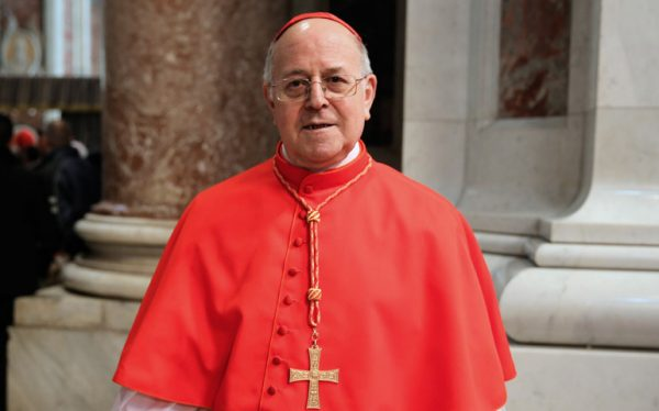 La Hermandad Nacional Monárquica en Valladolid felicita públicamente a Mons Blazquez por su nombramiento como Cardenal de la Iglesia Católica