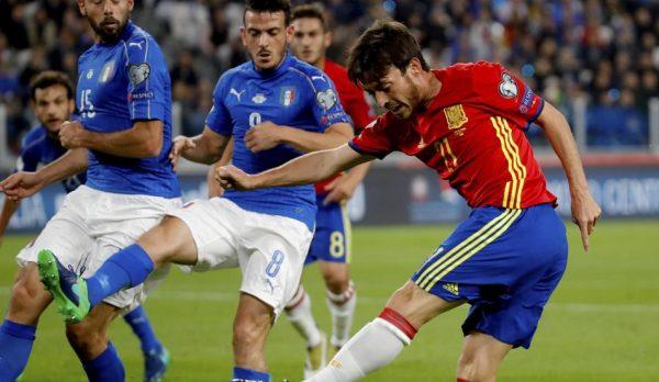 Italia 5, España 0