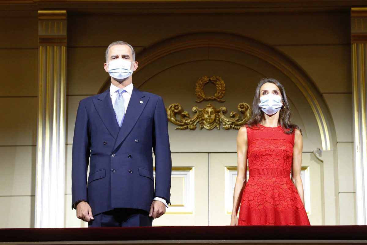 Sus Majestades los Reyes inauguraron la temporada 20/21 del Teatro Real